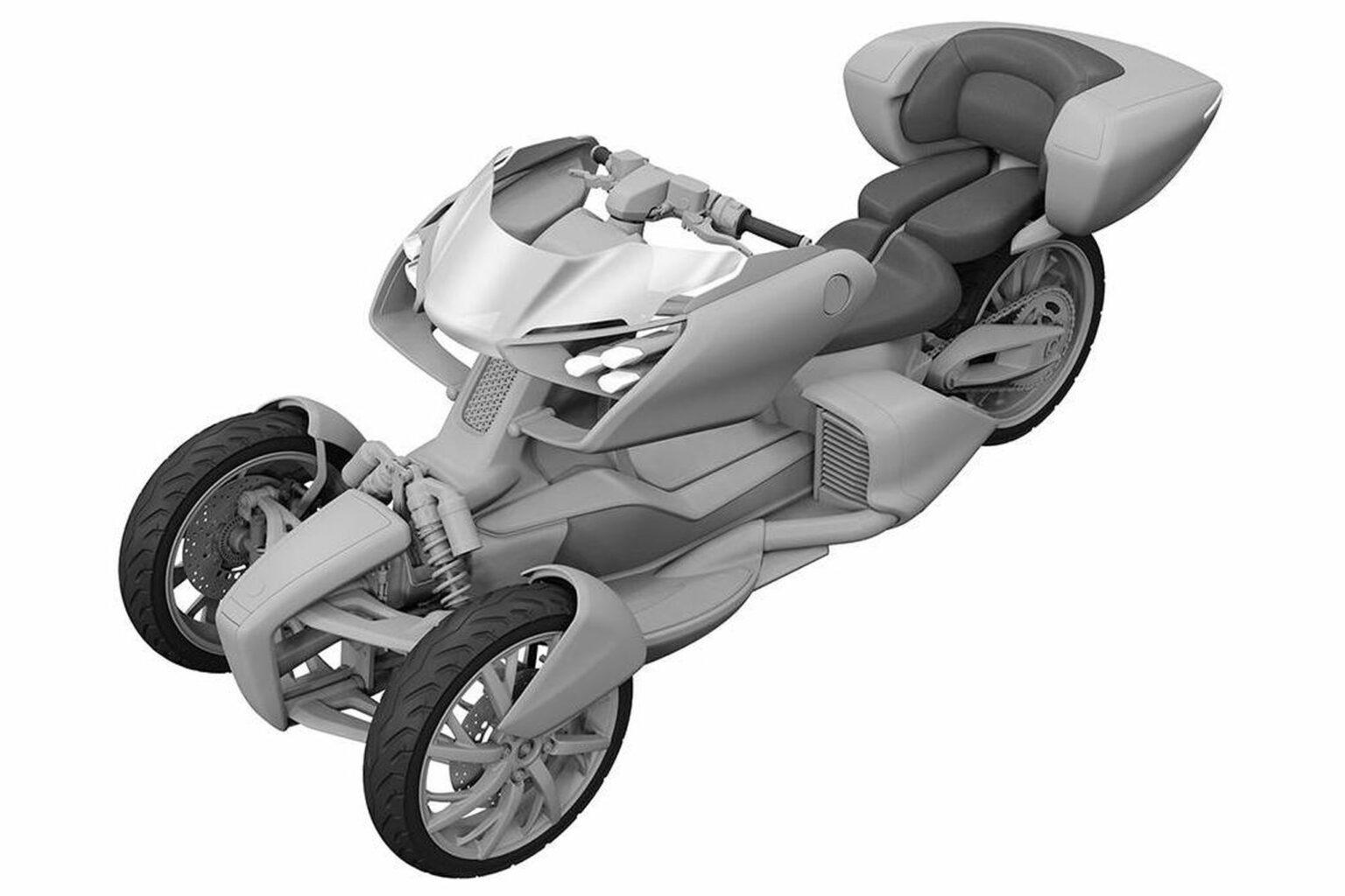 Yamaha Leaning-Trike