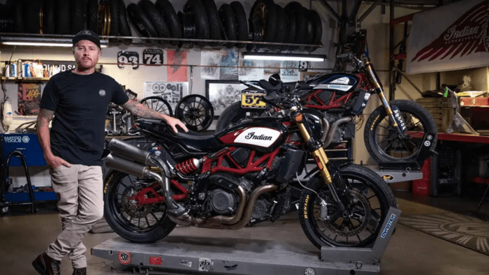 Roland Sands and Indian Motorcycle