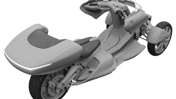 Yamaha Leaning Trike