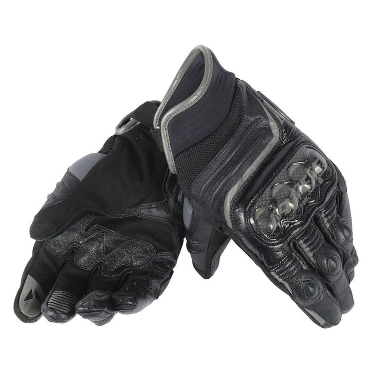 dainese carbon d1 short gloves black