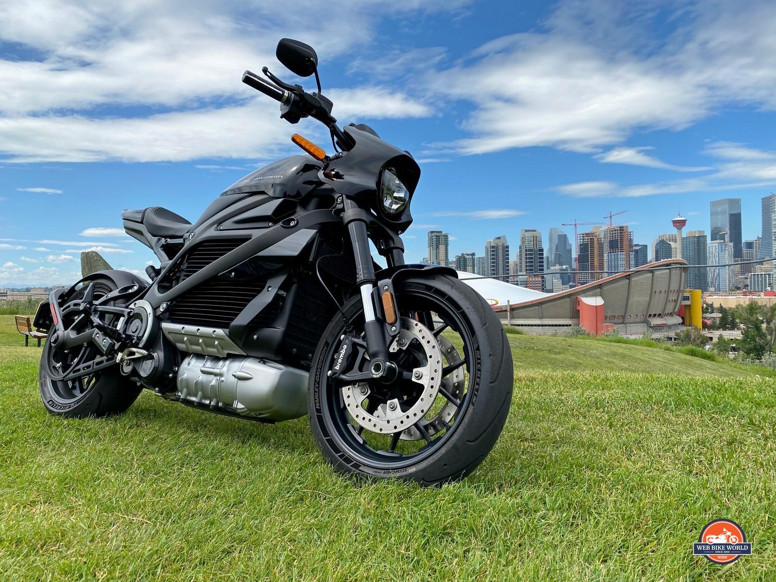 The 2020 Harley Davidson Livewire.