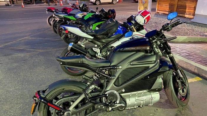 The Harley Davidson LiveWire