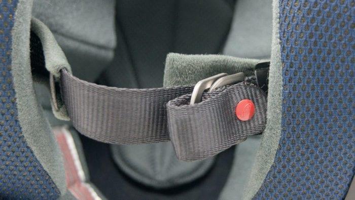 Chin strap on Arai XC helmet