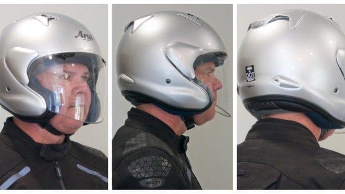 360 degree view of Arai XC helmet