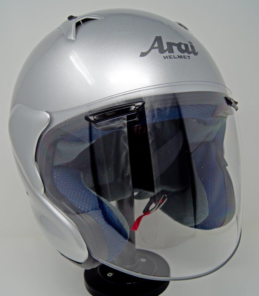 Angle view of Arai XC helmet