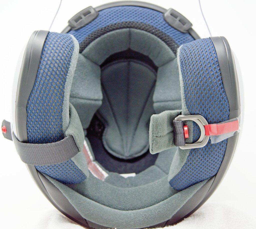 Cheek pads on Arai XC helmet