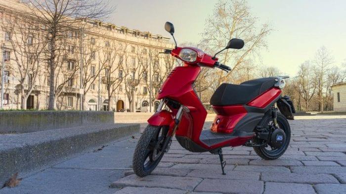 FD Motors electric scooter