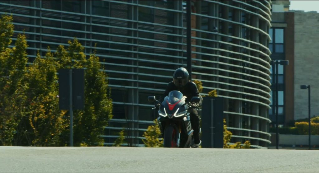 Aprilia RS 660 from teaser video