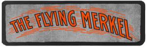 Flying Merkel logo