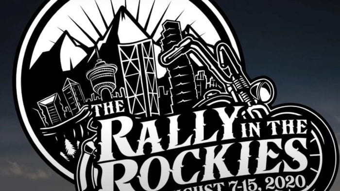 The Rally in the Rockies logo.