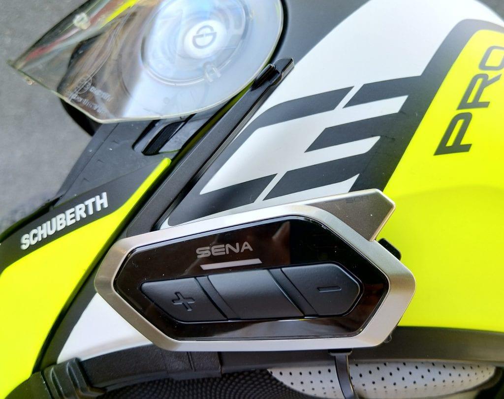 SENA 50R on SCHUBERTH C3 Pro