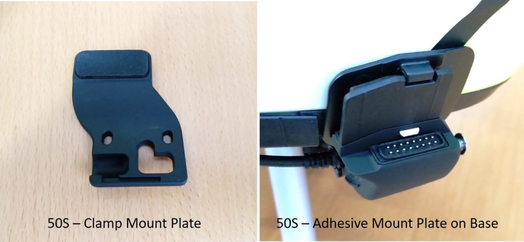 Sena 50S clamp mount plate