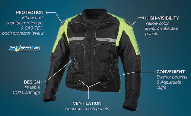 Helite Airbag Jacket