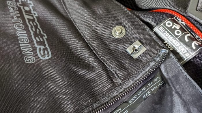 Drystar brand embroidering