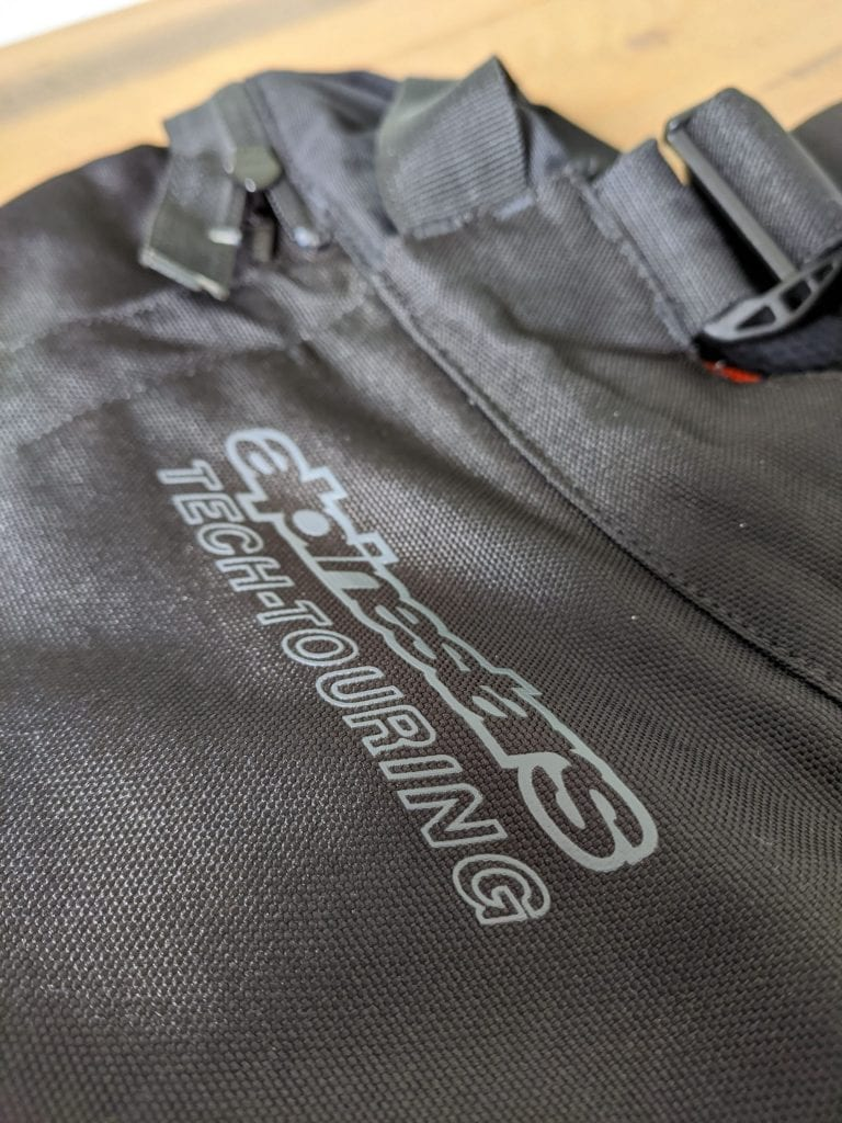 Alpinestars brand embroidering