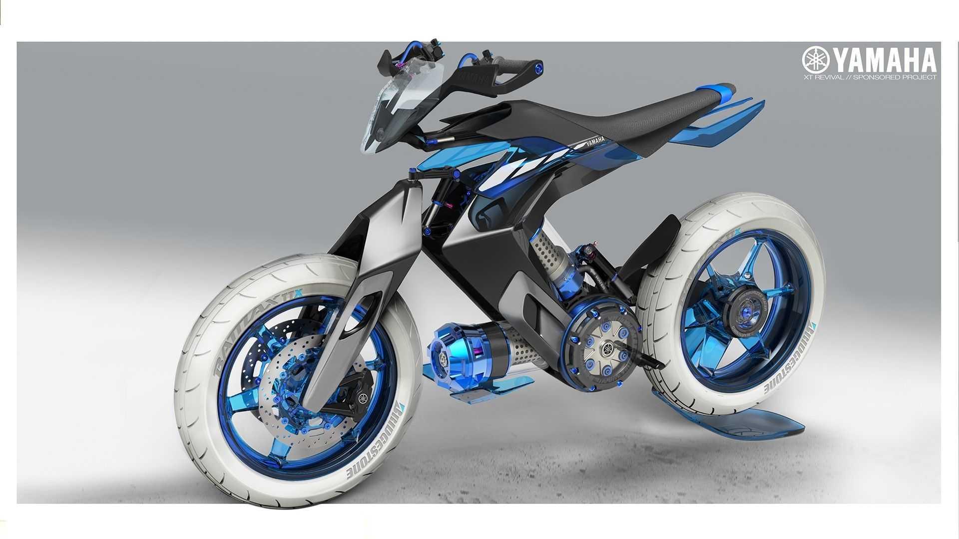 yamaha xt 500 h2o concept