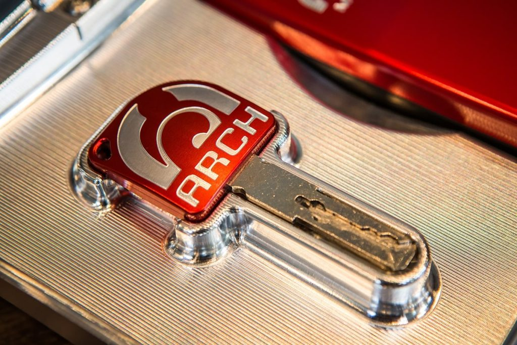 ARCH Motorcycle Key