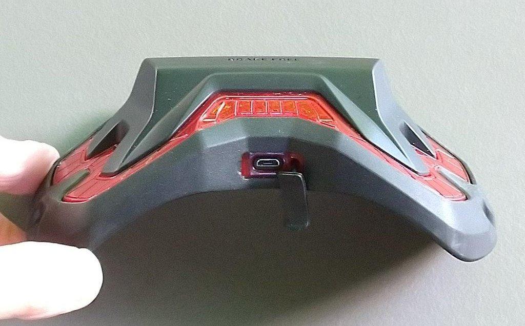 Brake Free Wireless Helmet Light charging port