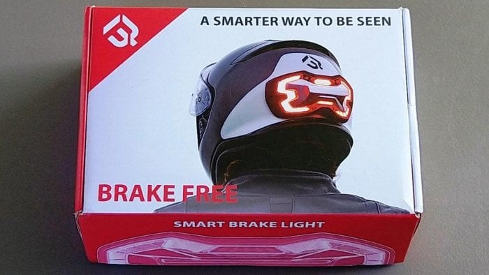 Brake Free Wireless Helmet Light box