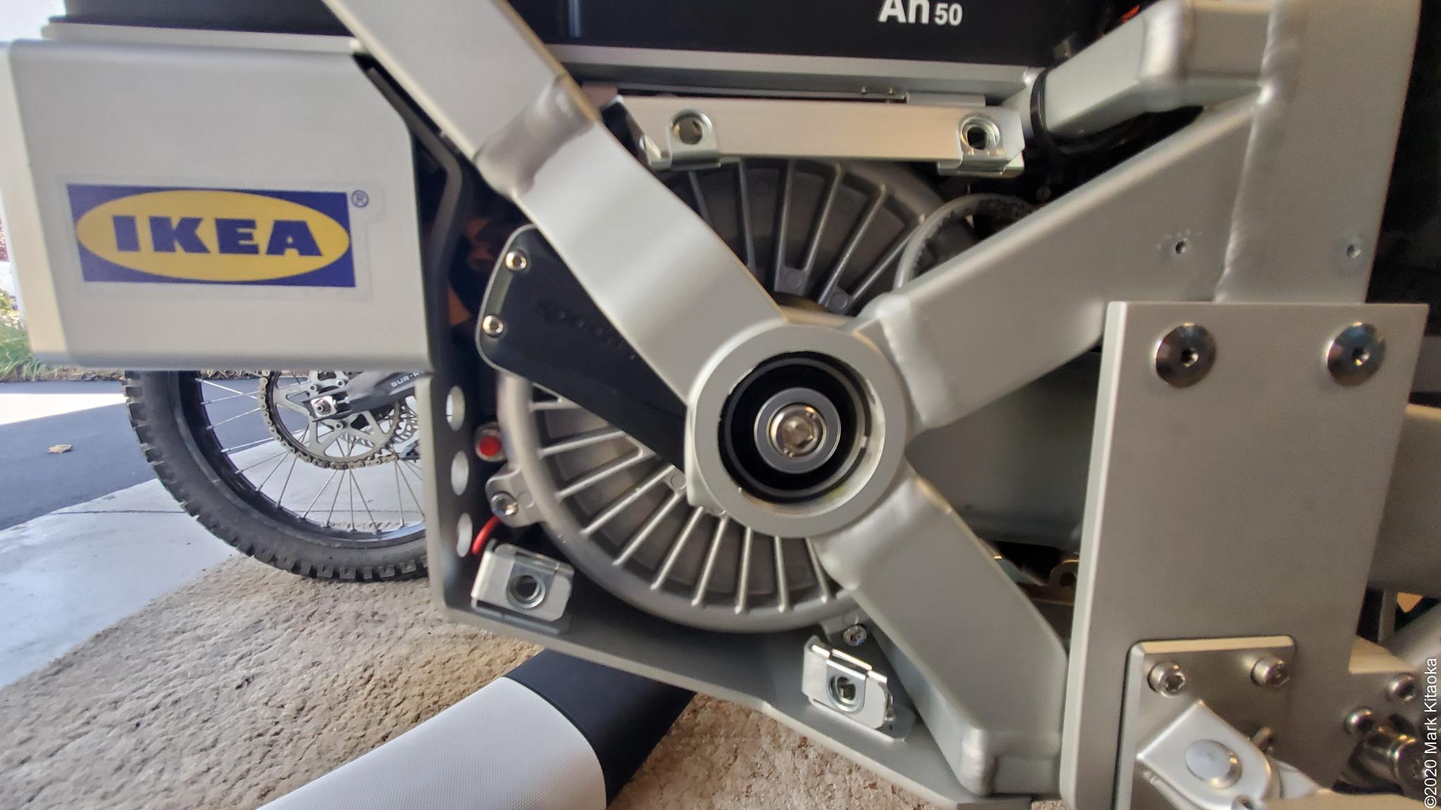 Kalk engine closeup