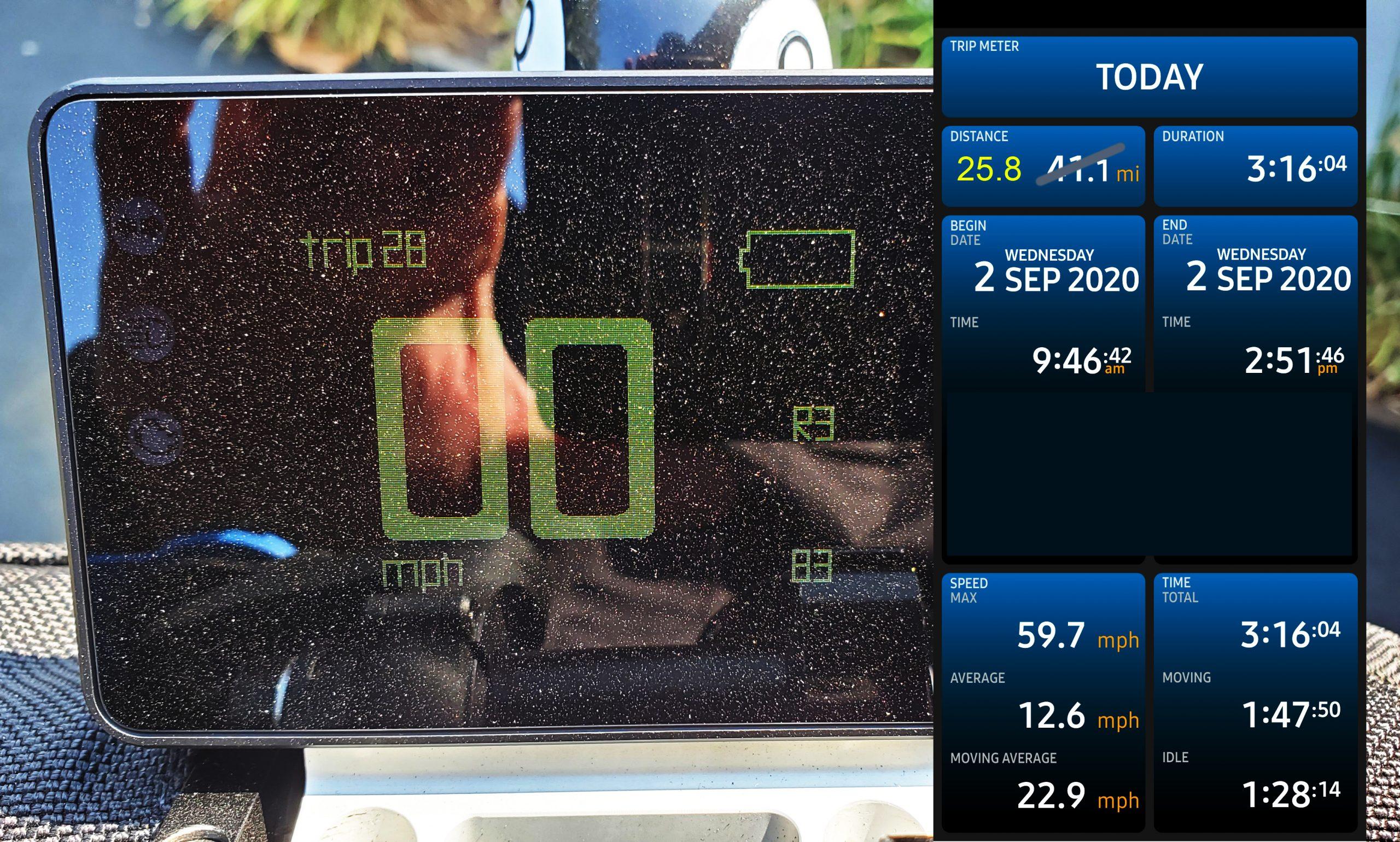 Mark's GPS tracker