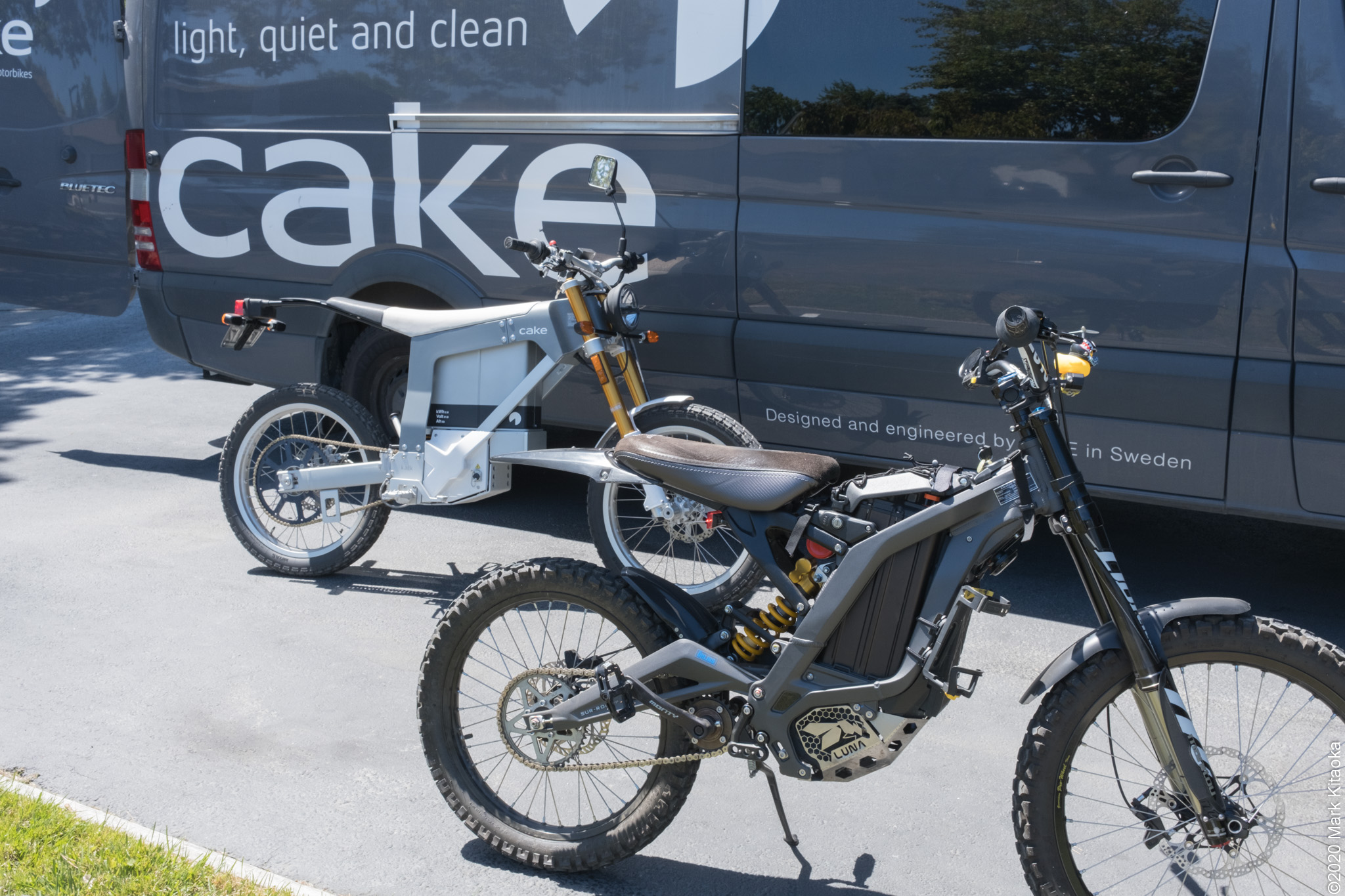 CAKE Kalk and Sur Ron motorcycle