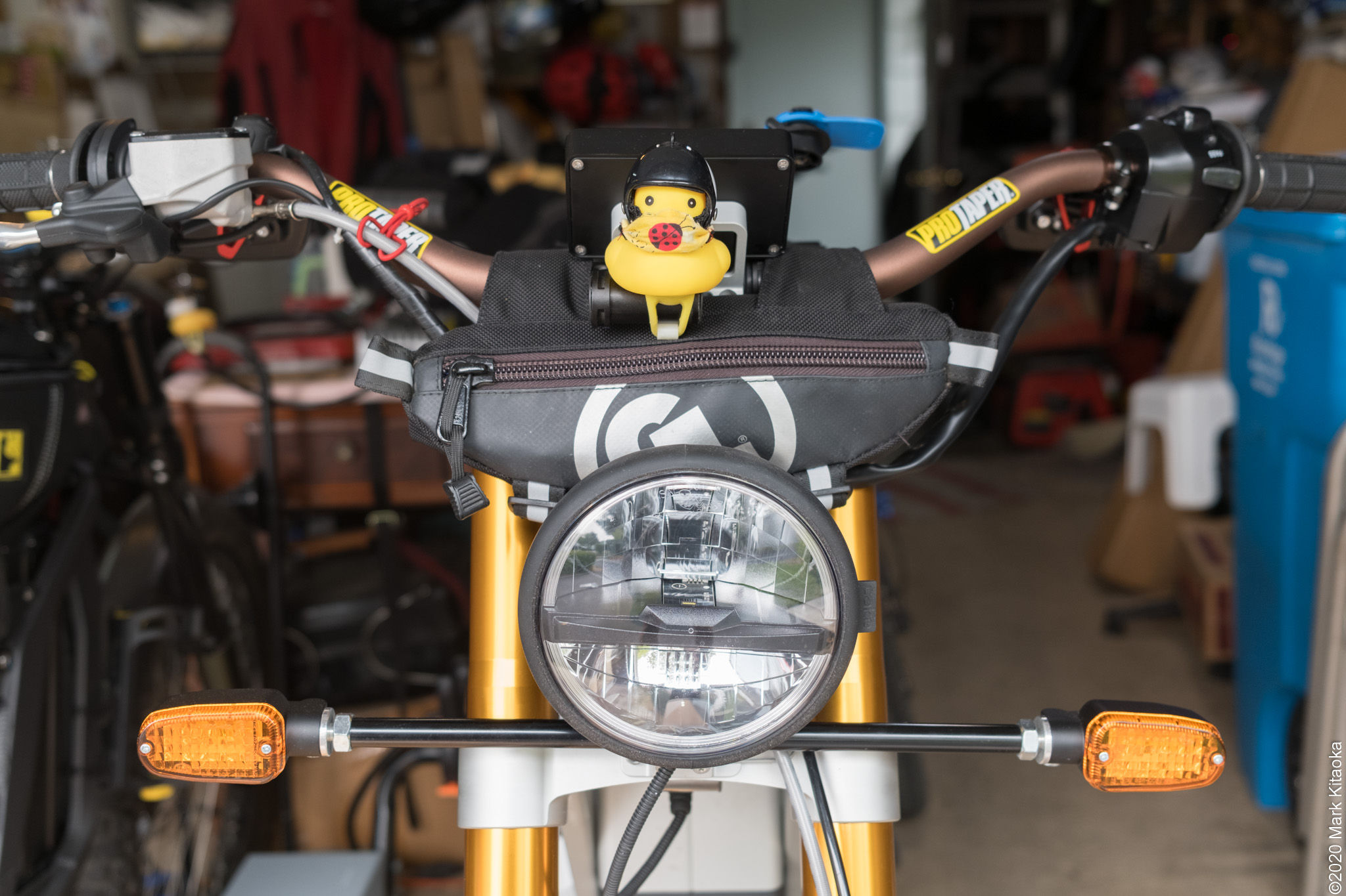 Front shot of the KALK bike