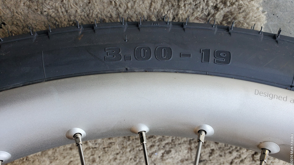 Kalk 19 inch tires
