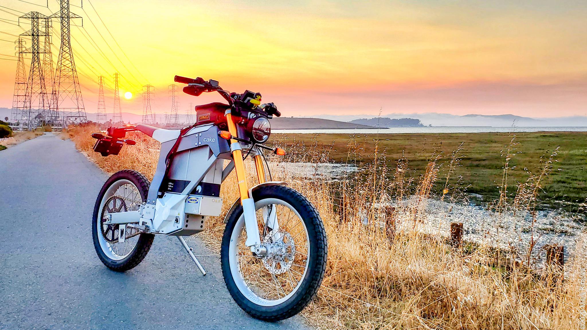 Cake Kalk Electric Motorcycle Review Webbikeworld