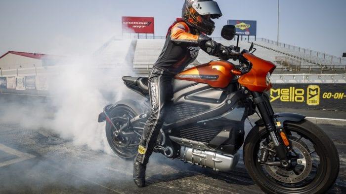 Harley-Davidson LiveWire Drag Strip