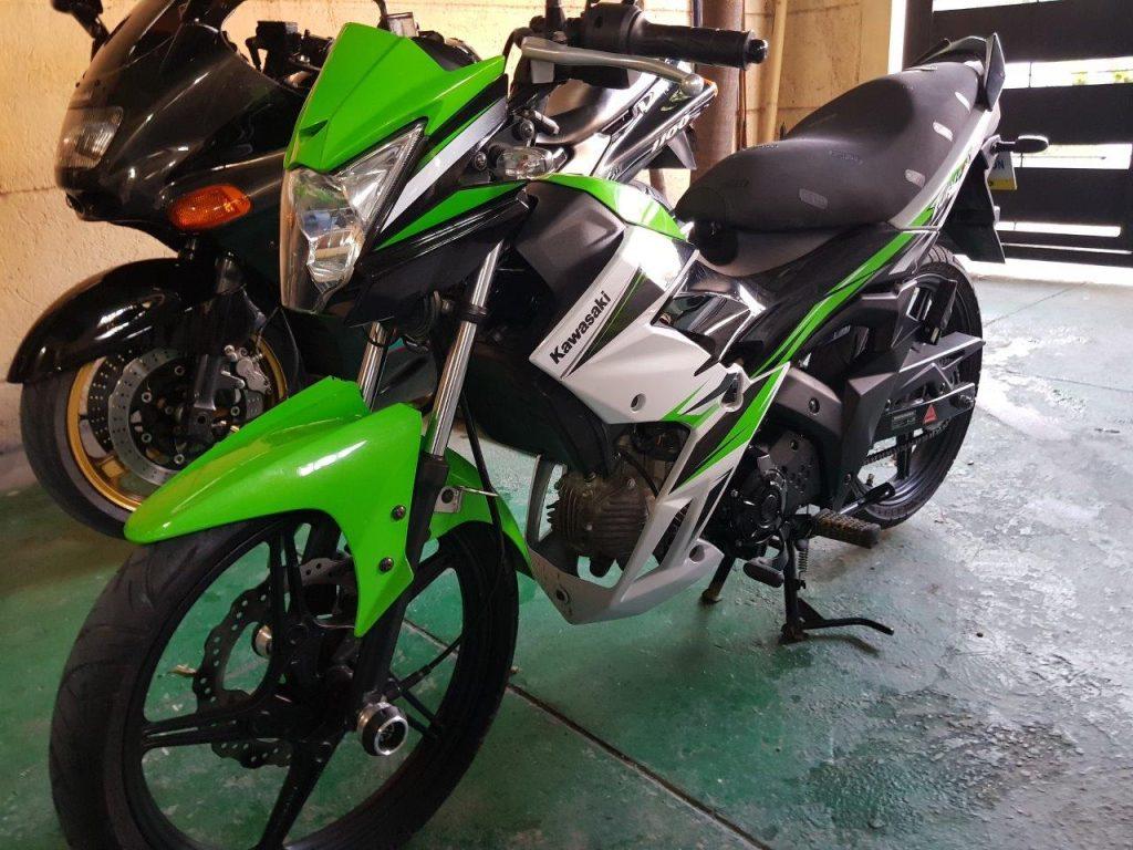green kawasaki fury 125 rr