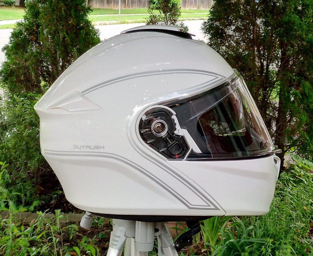 Side view of Sena Outrush Modular Helmet