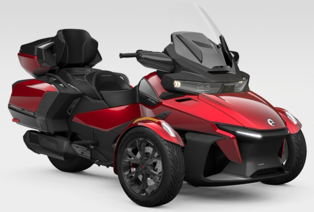 2021 can-am spuder rt limited