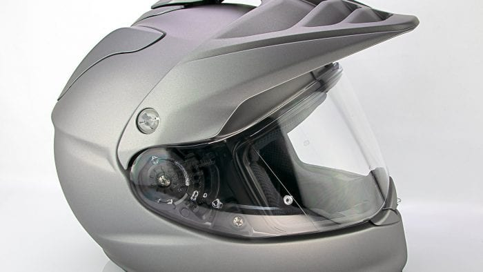 The Shoei Hornet X2 right side view.