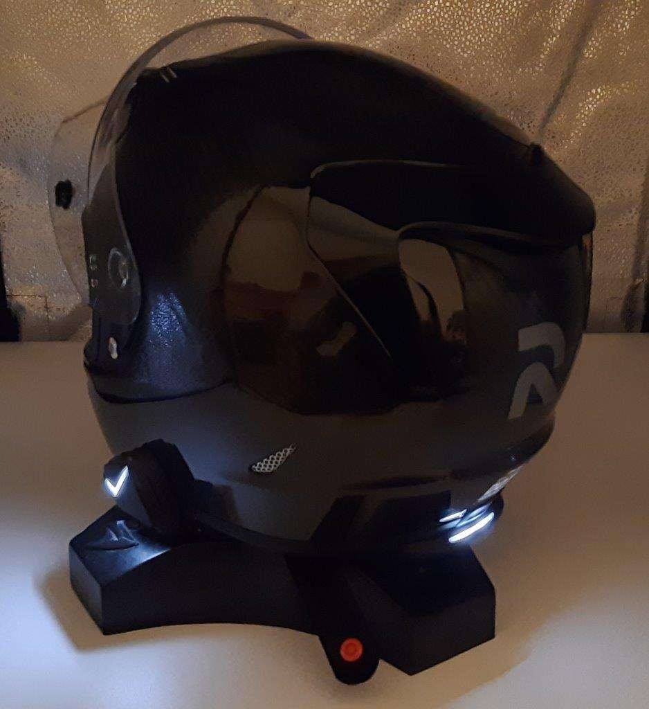 HJC RPHA 11 Pro Carbon helmet rear view