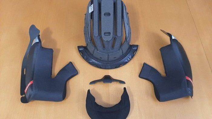 HJC RPHA 11 Pro Carbon helmet interior pieces