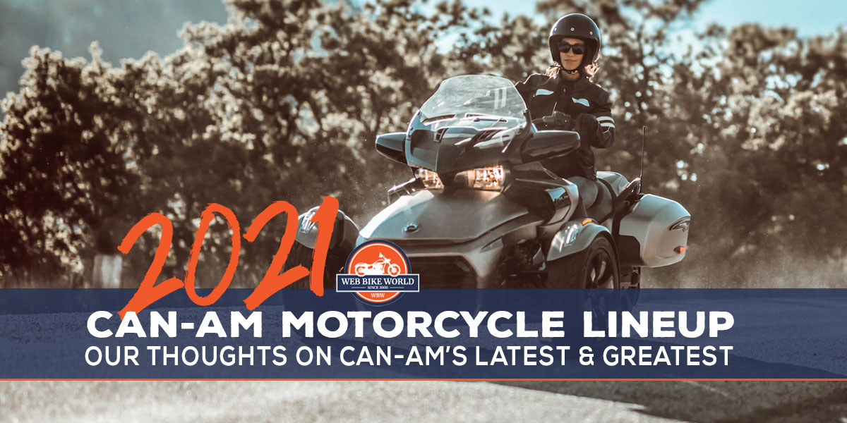 Can-Am On road Lineup