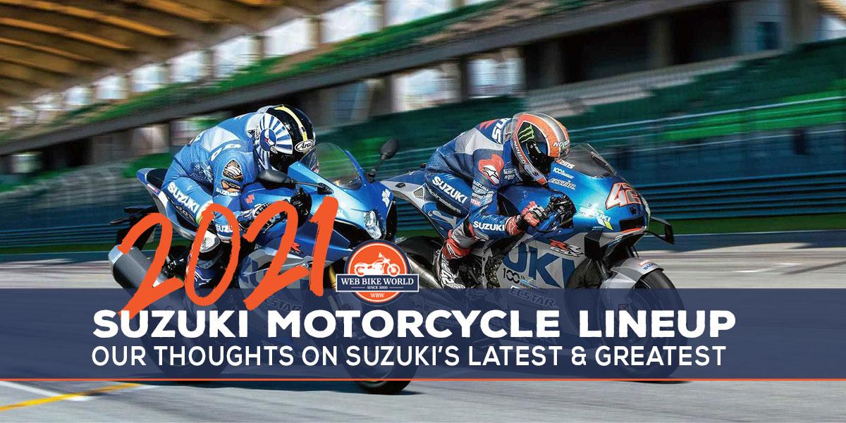 2021 Suzuki lineup