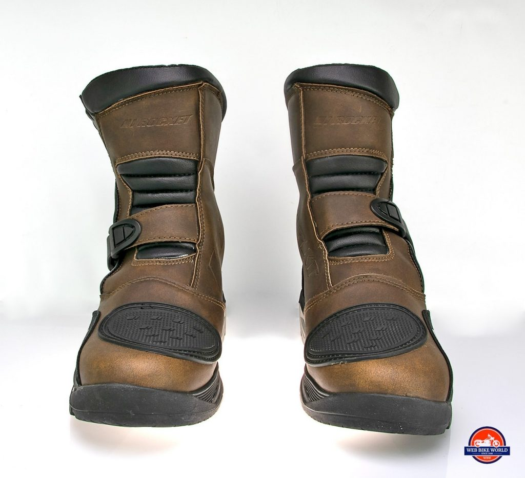 Front view of the Joe Rocket Canada Whistler Adventure boots.