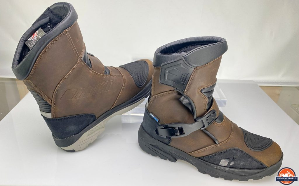 A side view of the Joe Rocket Canada Whistler Adventure boots.