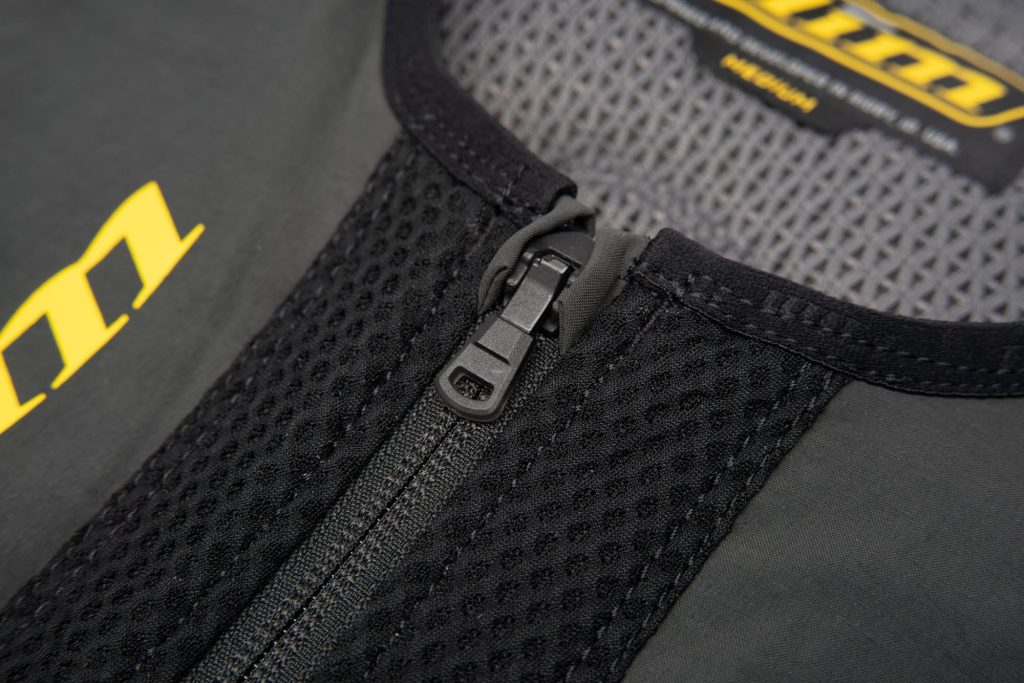 Klim Ai-1 airbag vest spring loaded zipper