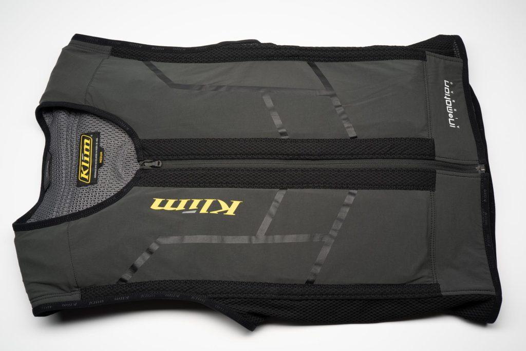 Side view of Klim Ai-1 airbag vest