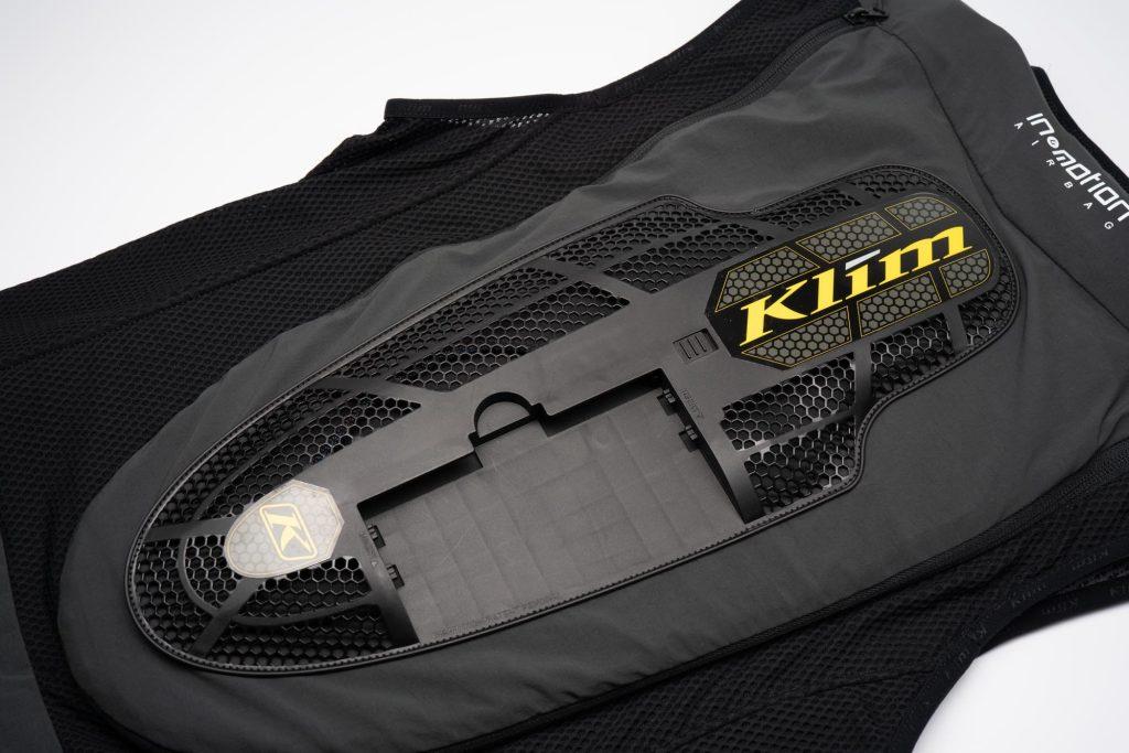 Rear view of where Klim Ai-1 electronic sensor attaches