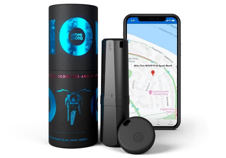 Monimoto GPS Tracker with smartphone