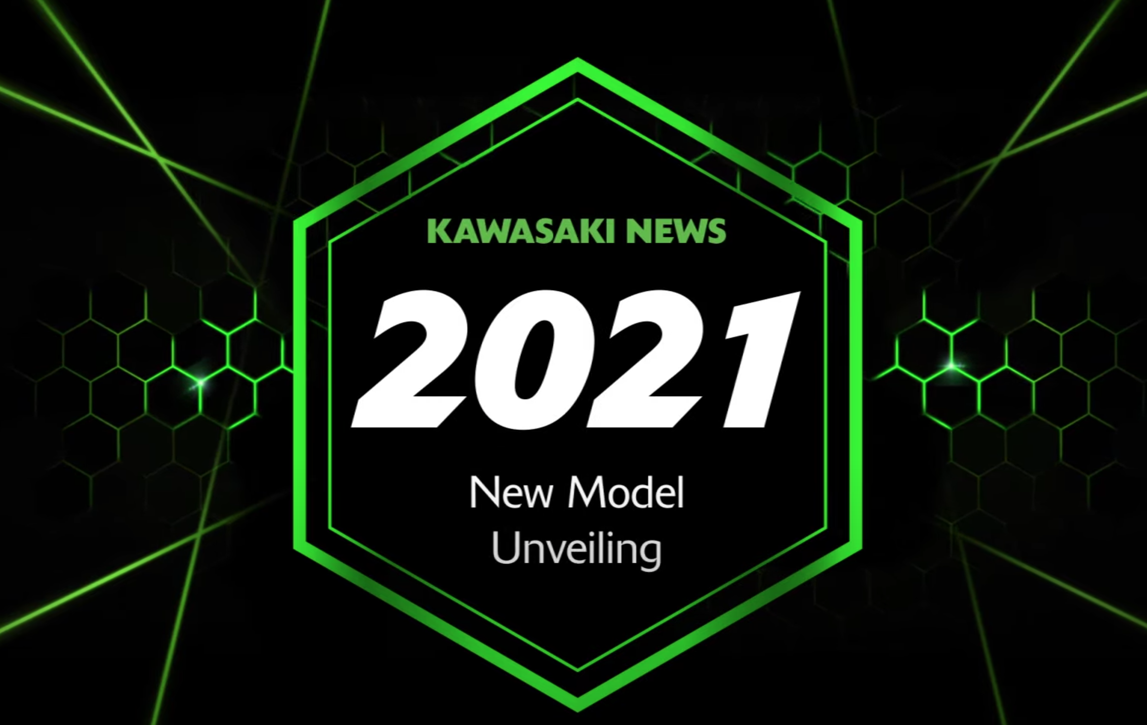 Kawasaki 2021 motorcycle reveal