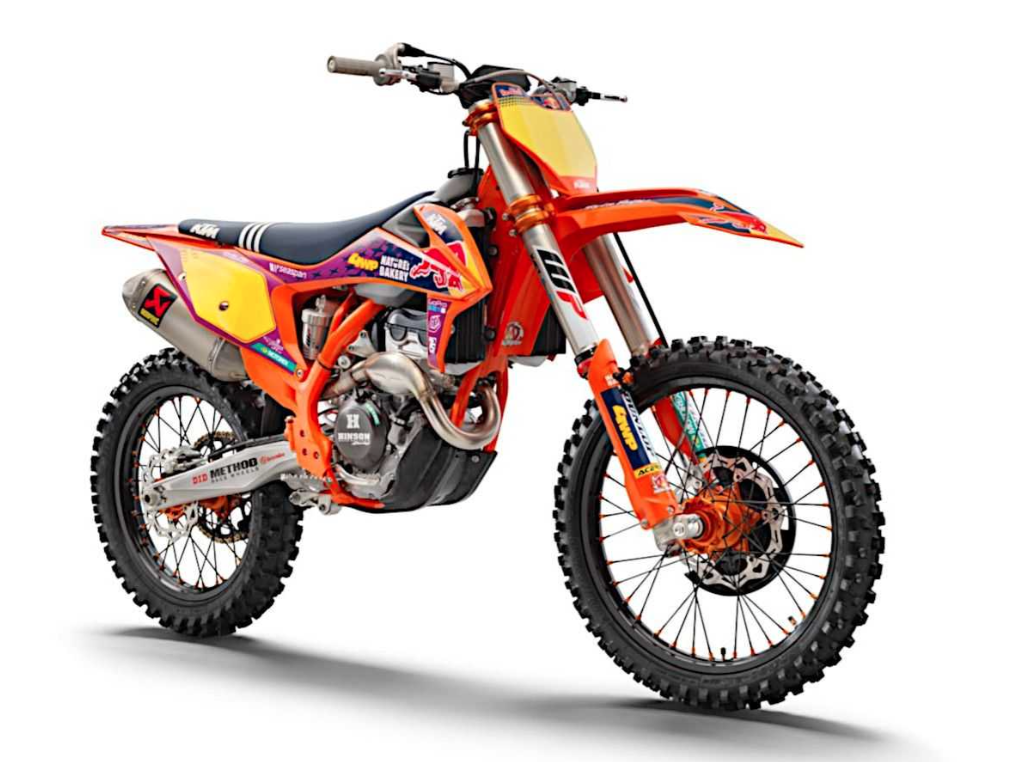 2021 250 SX-F Troy Lee Designs Edition