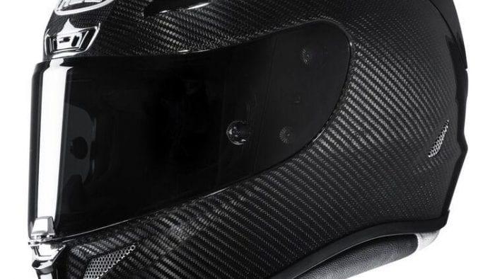 Side view of HJC RPHA 11 Pro Carbon helmet