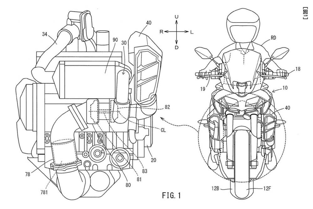 Yamaha Turbo patent