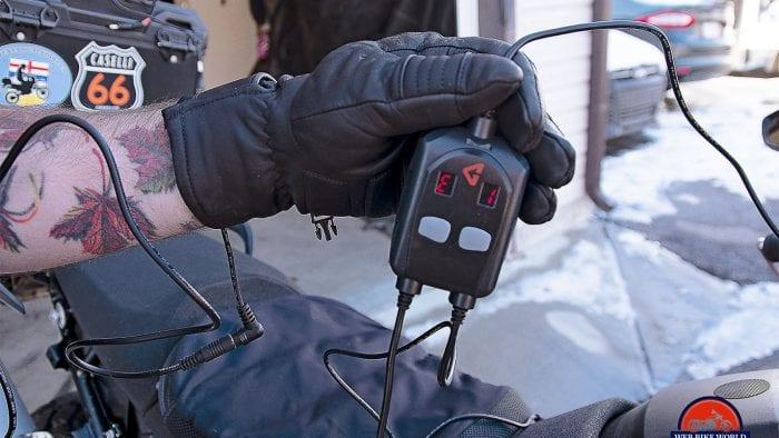 The Gerbing dual circuit temperature controller module.