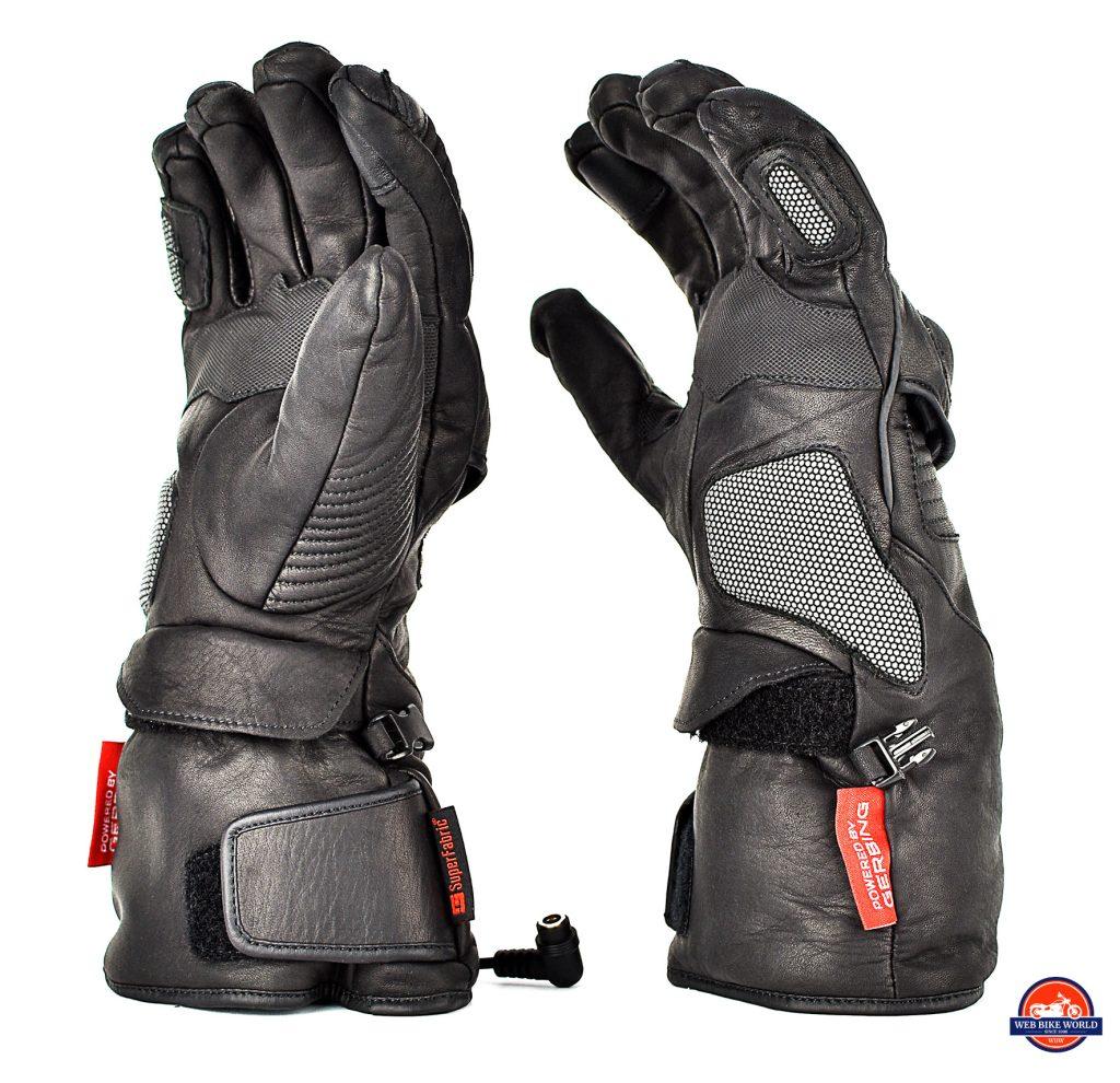 The Gerbing Vanguard heated motorcycle gloves.